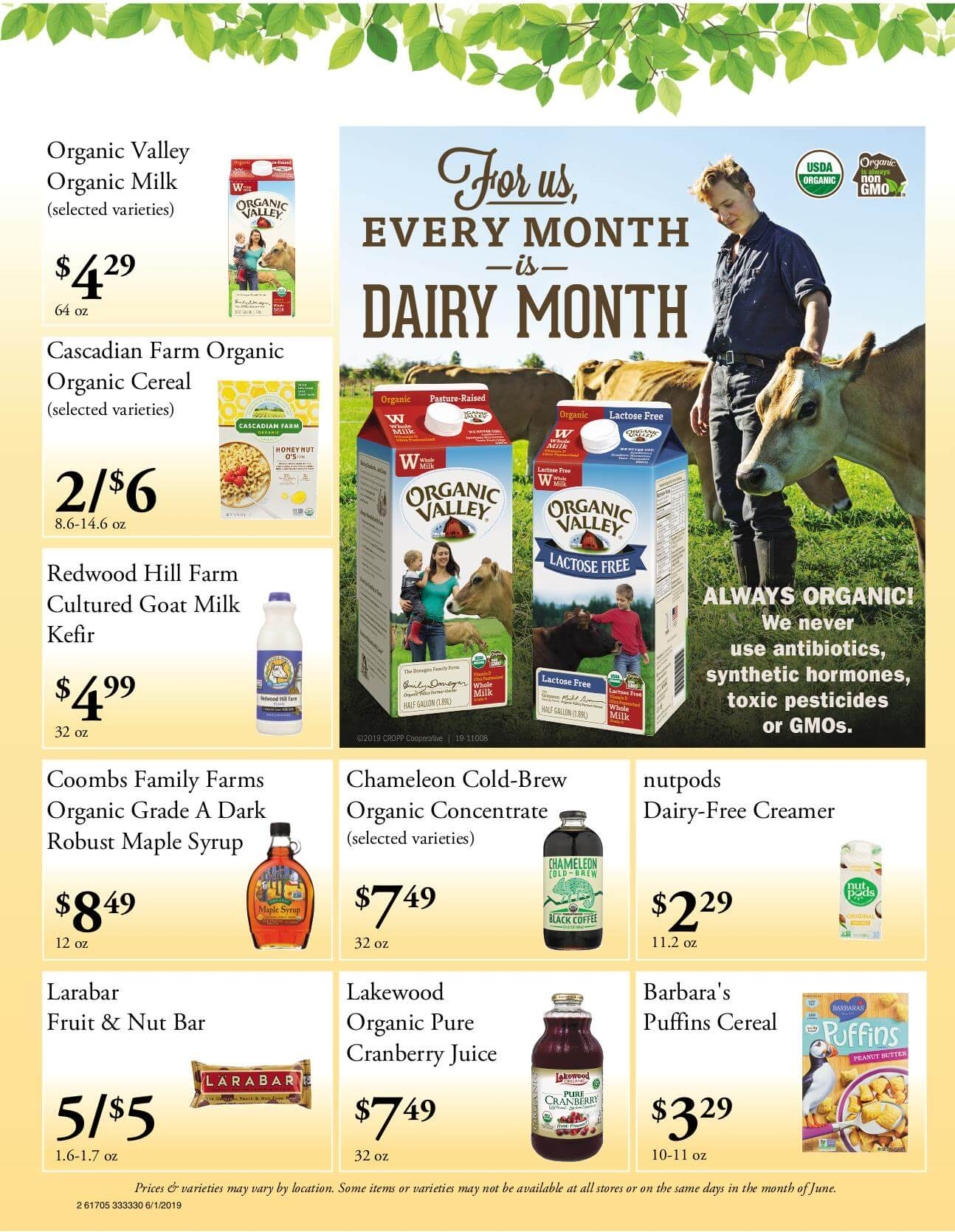 Ramona Family Naturals - monthly specials page 2