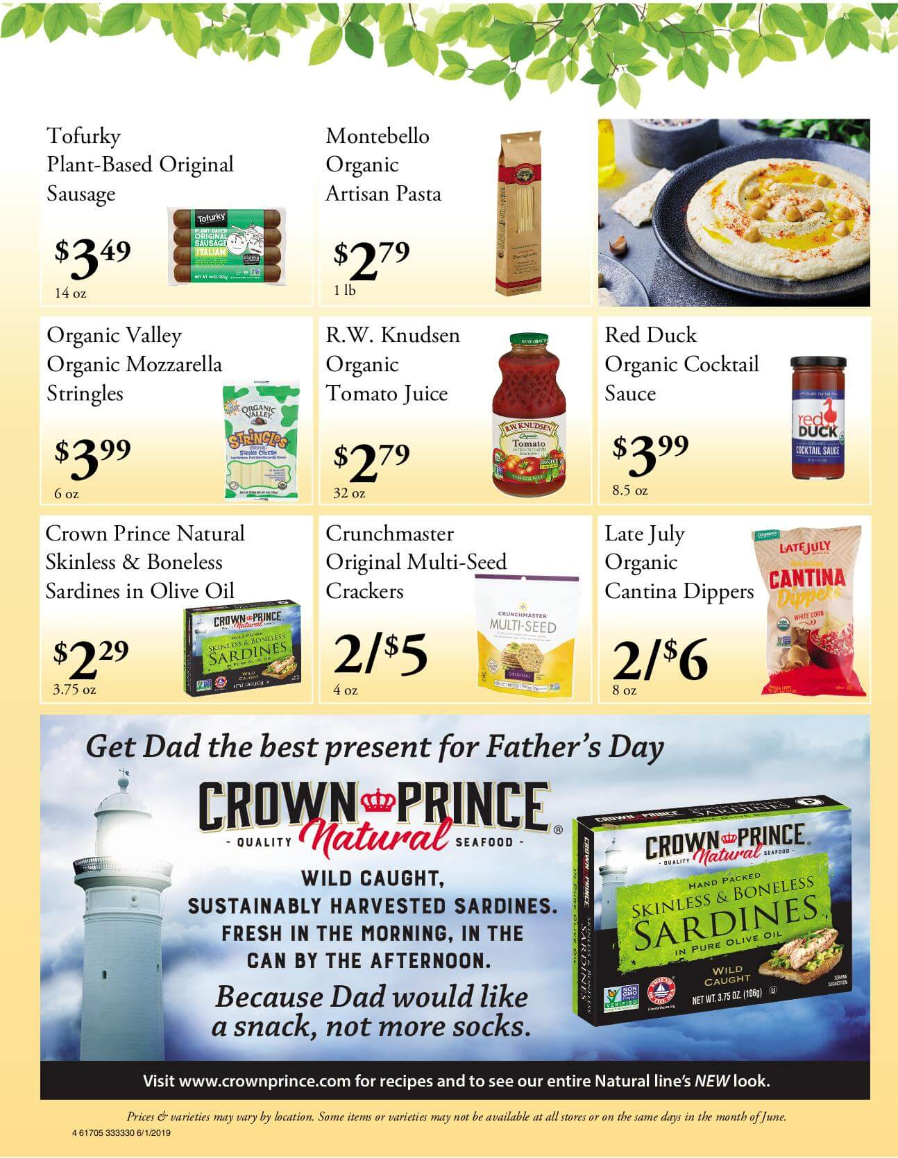Ramona Family Naturals - monthly specials page 4
