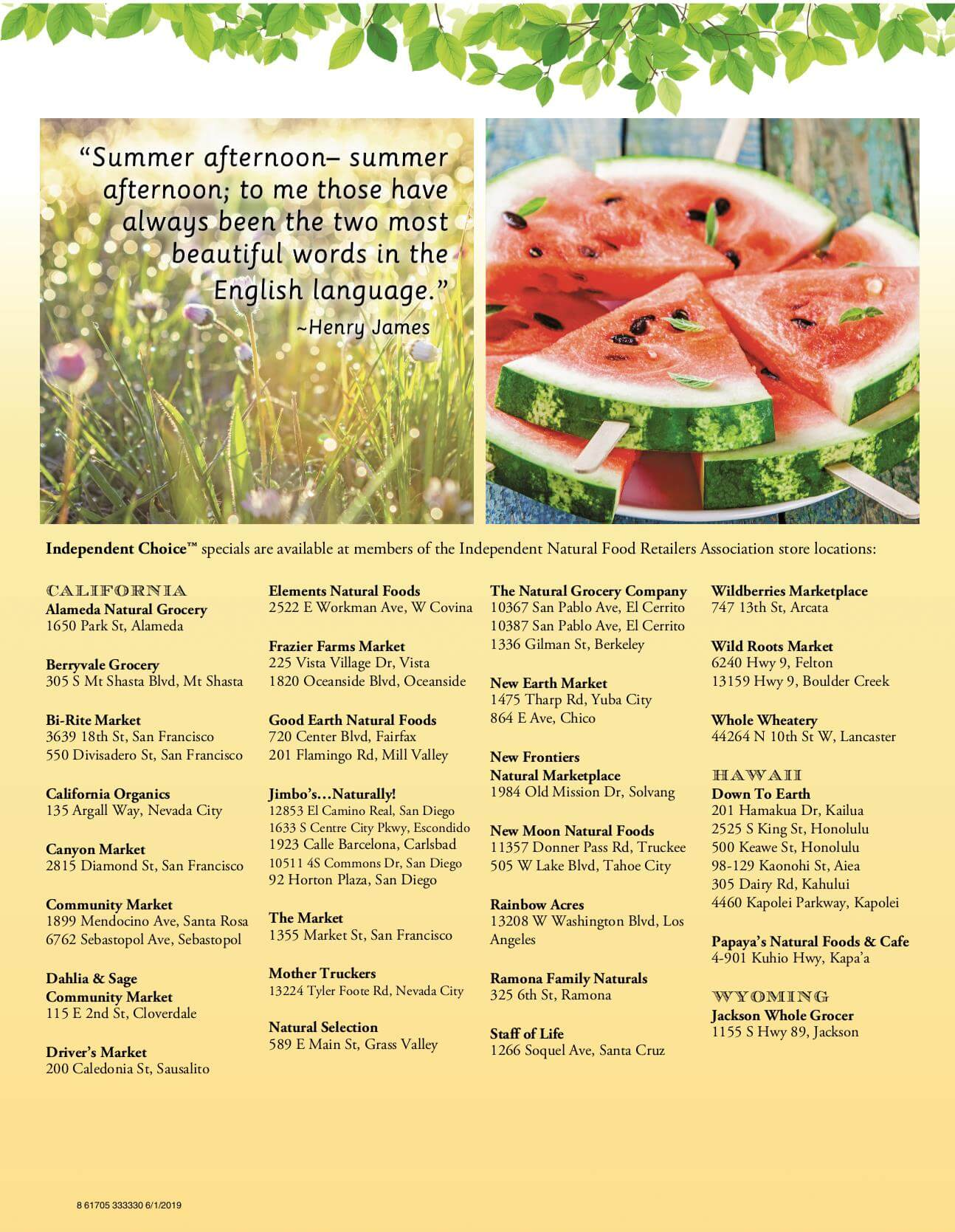 Ramona Family Naturals - monthly specials page 10