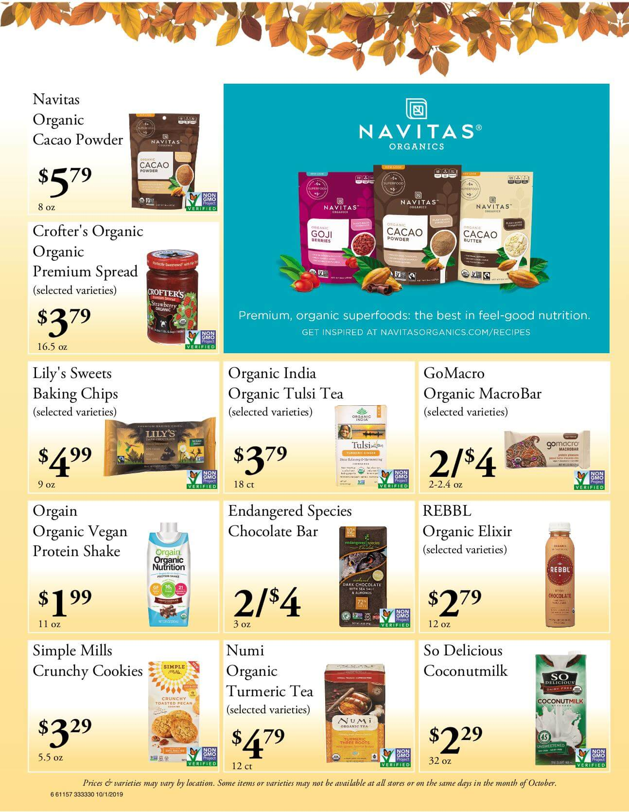 Ramona Family Naturals - monthly specials page 6