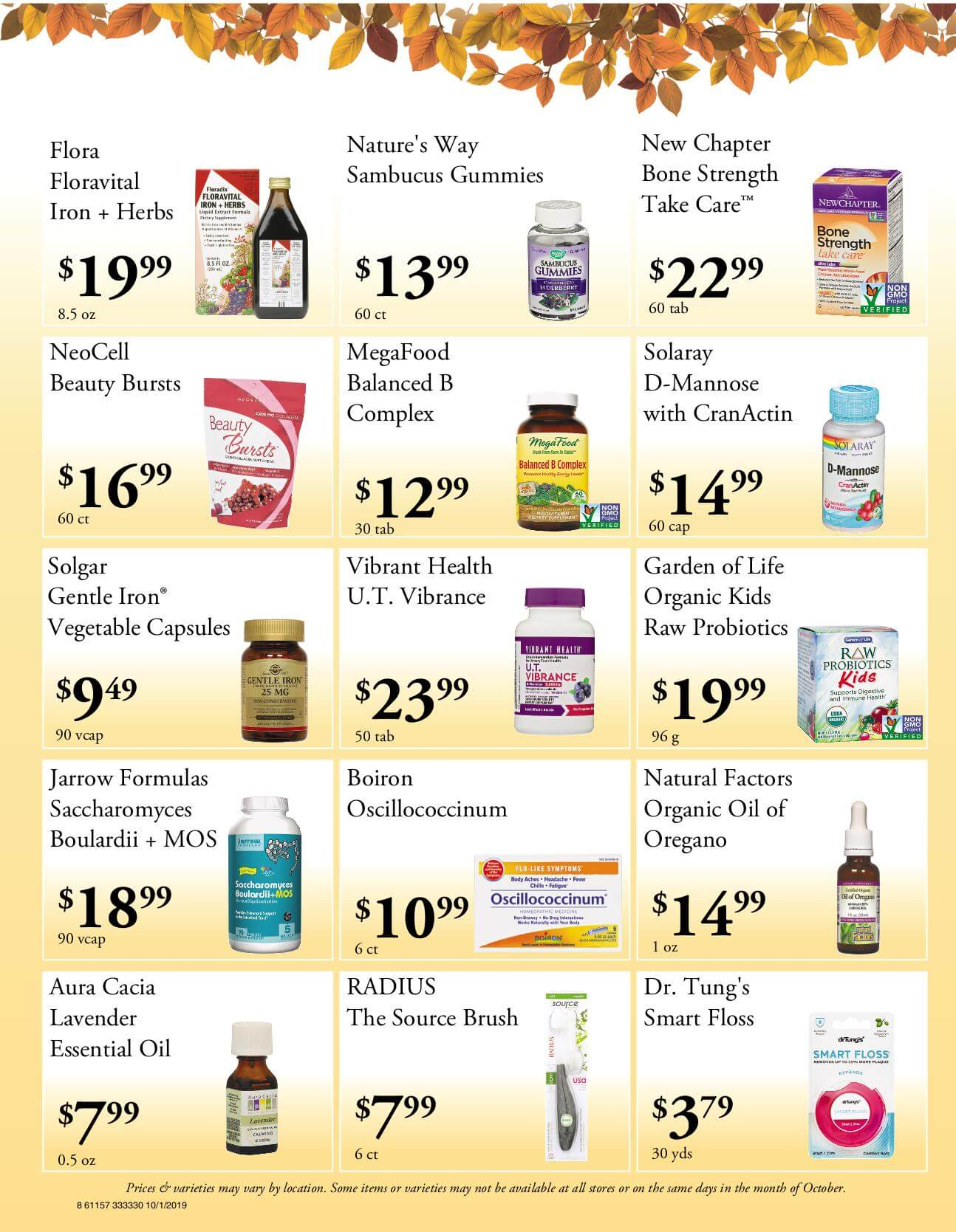 Ramona Family Naturals - monthly specials page 8