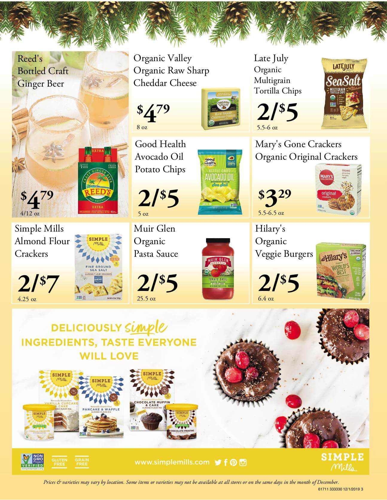 Ramona Family Naturals - monthly specials page 3